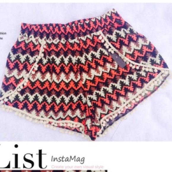 Shorts - Tulip pom pom shorts