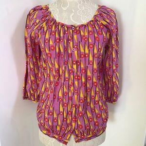Antik Batik Tops - Antik Batik Longs Sleeves Summer Top sz M