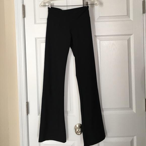 badbc75867ee56 Bally Pants | Total Fitness Black 32performance Yoga Pant | Poshmark