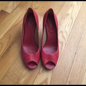 Banana Republic red heels