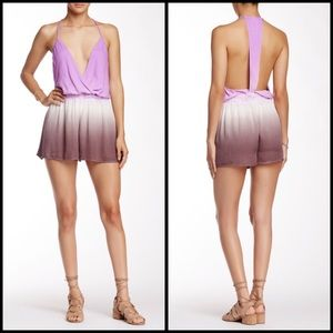 Young Fabulous & Broke Pants - YFB Lilac Mocha Hollie Ombré Romper