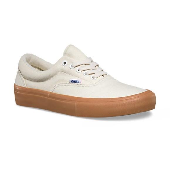 Vans Shoes   Cream Color Vans   Poshmark
