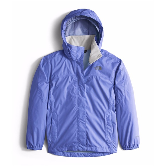 bc9c81e90963 North Face Resolve Reflective Rain Jacket - Girls .  M 58c1850cc6c7950cf700409f