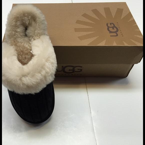 Ugg Shoes Cozy Knit Slipper Black Poshmark