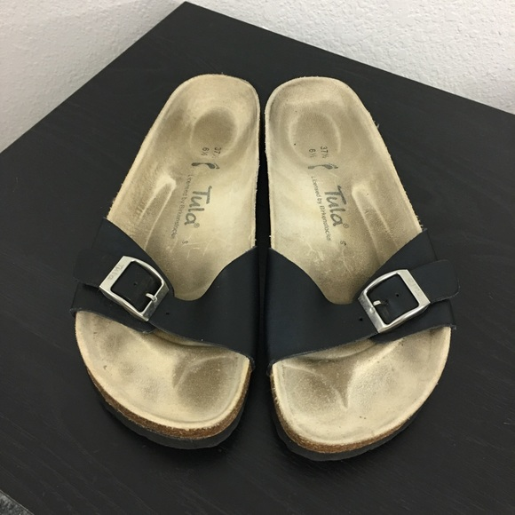 e734809d3 Birkenstock Shoes - Birkenstock  Tula 1 Strap Sandal Matte Blk Sz 37.5