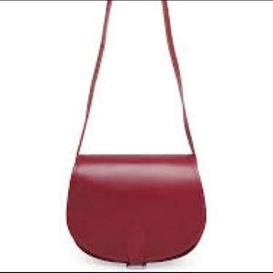 APC Handbags - APC A.P.C rouge saddle bag