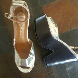 Jeffrey Campbell platforms with strap
