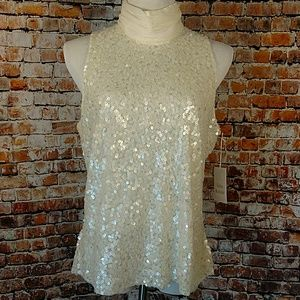 Madison Gray Tops - NWT Sequin Blouse Plus 18