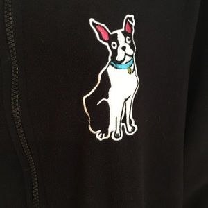 ca6f3e239d Nick   Nora Intimates   Sleepwear - Nick   Nora Boston Terrier Fleece  Footie Pajamas