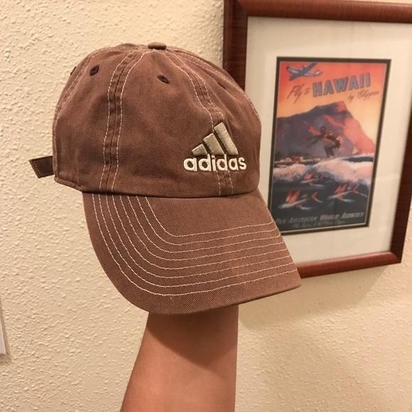 Adidas Accessories - Adidas Brown Dad Cap Baseball Hat 6b8f20da8c9