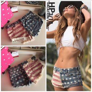 Bullhead Pants - PACSUN [Bullhead] • American Flag Shorts