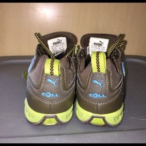 cc0c13659274 Puma Shoes - Puma Cell Alpine Racer Running Olive Lime Turq.
