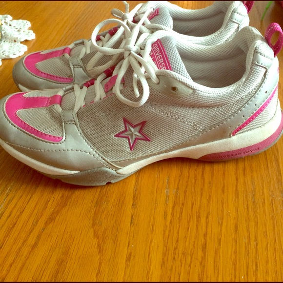 4c6087d381e85a Converse Shoes - Converse All Star- pink and white athletic shoes