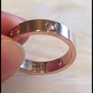 simplylovable Jewelry - Love Rose Gold Ring