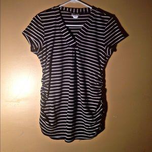 Oh Baby by Motherhood Tops - Size Large motherhood striped shirt