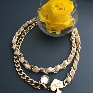 Kate spade chain necklace!!
