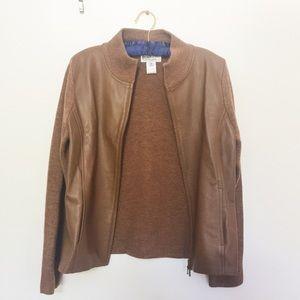 Pendleton Jackets & Blazers - Vintage Pendleton Leather and Wool Jacket