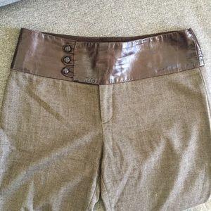Mason Pants - leather detailed MASON trousers