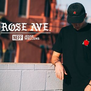 Neff Other - ✨ HP // Neff Rose Ave Black Tee
