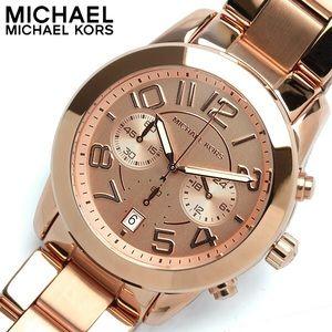 Michael Kors Accessories - Rose Gold Michael Kors Watch