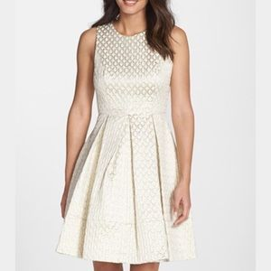 Eliza J Dresses & Skirts - Eliza J Jacquard Fit & Flare Dress