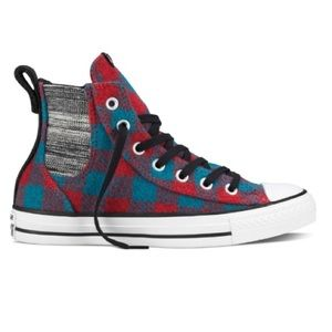 Converse Shoes - CONVERSE WOMENS SIZE 6 WOOLRICH SHOES HI TOPS