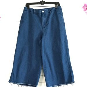 Zara Denim - Zara cutoff Pants