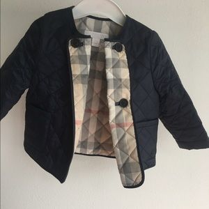 Burberry light quilted jacket for a 12M baby