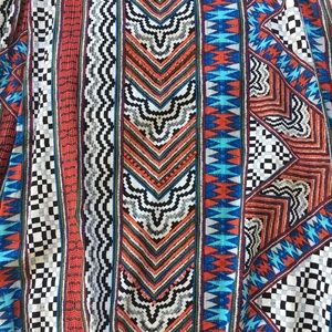 MINKPINK Dresses - MinkPink Multi Color Tribal Dress With Choker