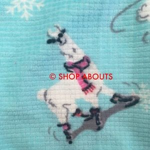 PJ Salvage Other - Cute Llamas Thermal Velour Lounge Pants PJ Salvage