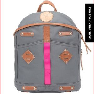 Will Leather Goods Handbags - Will Leather Goods Canvas and Leather Backpack
