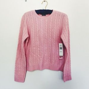 Lauren Ralph Lauren Sweaters - Lauren by Ralph Lauren Pink Cashmere Sweater