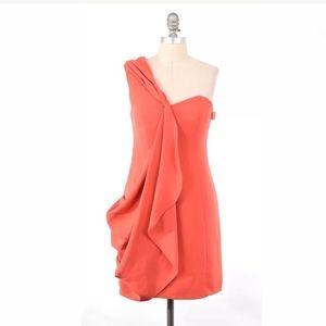 Shoshanna Dresses & Skirts - NWT Shoshanna draped one shoulder cocktail dress