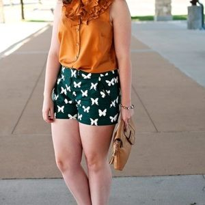 J.Crew butterfly shorts
