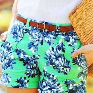 J. Crew Pants - J.Crew tap short in photo floral