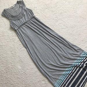 Max Studio Dresses & Skirts - Max Studio Striped Maxi Dress