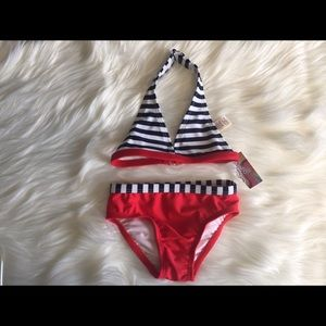 Other - Red White and Blue Baby Bikini Size 6-9 Months