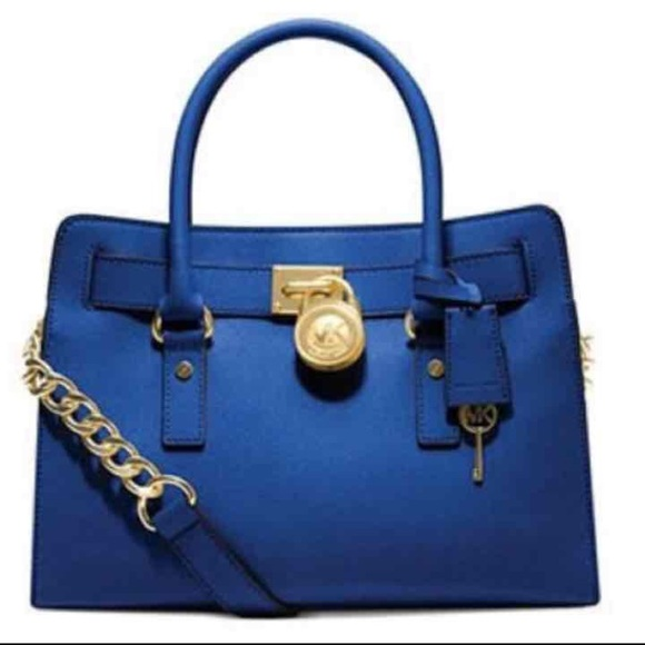 MICHAEL Michael Kors Handbags - MK Hamilton Saffiano East West Satchel