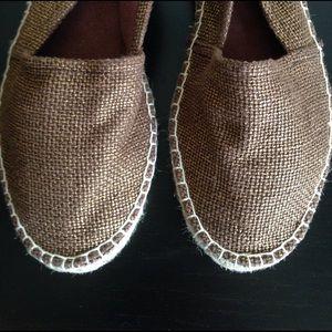 Relativity Shoes - metallic espadrilles