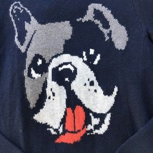 Abercrombie & Fitch Sweaters - SALE❗️Abercrombie & Fitch Navy Frenchie Sweater