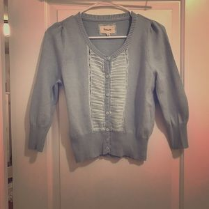 Heritage Sweaters - Button cardigan short sweater