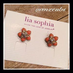 Lia Sophia Jewelry - Lia Sophia petal pusher earrings