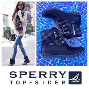 GREAT SHAPE!  Sperry TopSider waterproof duck boot