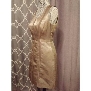 Club Monaco Dresses & Skirts - Club Monaco gold dress