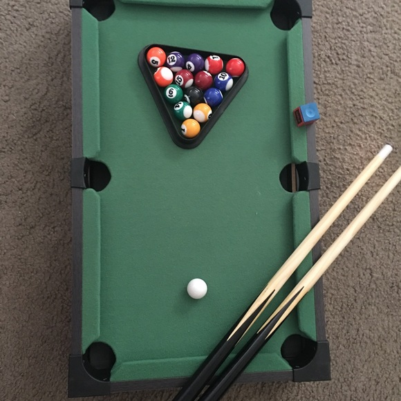 Urban Outfitters Other Mini Pool Table Poshmark - Tabletop pool table full size
