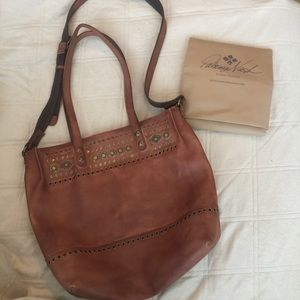 Patricia Nash Handbags - BRAND NEW! ❤️ LEATHER PATRICIA NASH STUDDED BOHO
