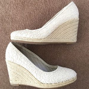 Unlisted Shoes - Lace-Detail Wedges