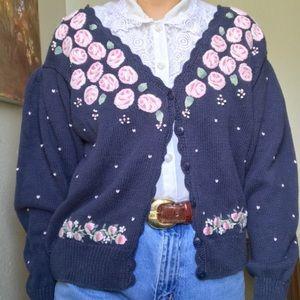 Vintage Abuelita Cardigan