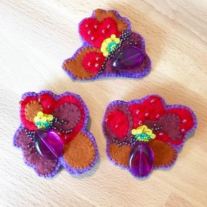 Pinup Brooches