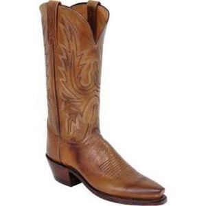 Lucchese Shoes - Lucchese Since 1883 Tan Burnished cowboy boots
